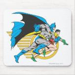 Batman & Robin Profile Mouse Pads