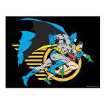 Batman & Robin Profile Post Cards