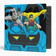 Batman & Robin Ride Batmobile Binder