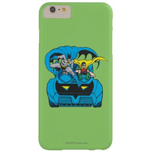 Batman & Robin Ride Batmobile Barely There iPhone 6 Plus Case