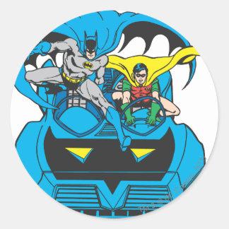Batman & Robin Ride Batmobile Stickers