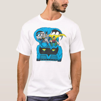 Batman & Robin Ride Batmobile T-Shirt