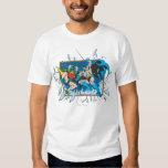 Batman & Robin Shatter Window T-Shirt