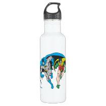 Batman & Robin Stainless Steel Water Bottle