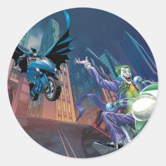 Batman Rogue Rage - 11 Round Sticker