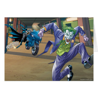Batman Rogue Rage - 3 Greeting Card