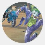 Batman Rogue Rage - 3 Classic Round Sticker