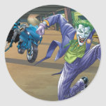 Batman Rogue Rage - 3 Round Stickers