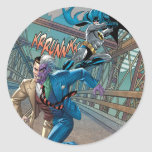 Batman Rogue Rage - 7 Round Sticker