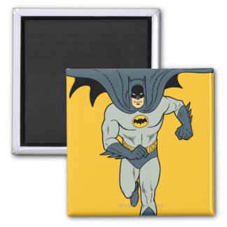 Batman Running 2 Inch Square Magnet