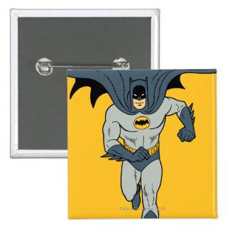 Batman Running Pinback Button