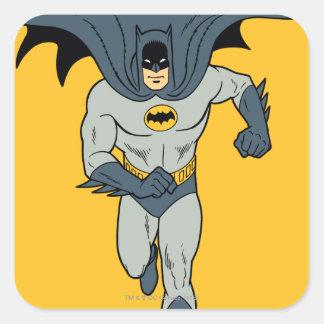 Batman Running Square Sticker