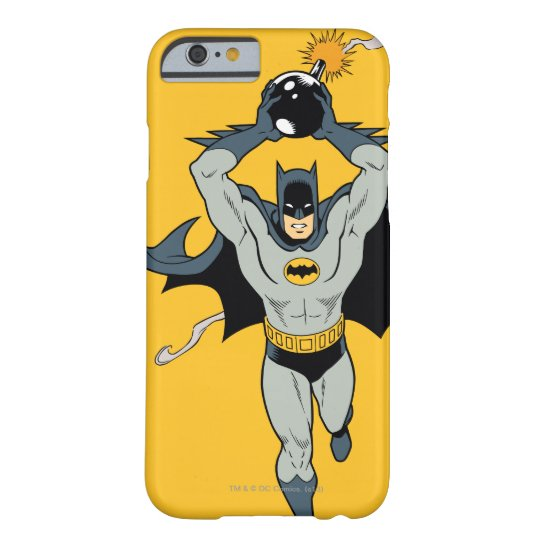 Batman Running With Bomb Barely There iPhone 6 Case