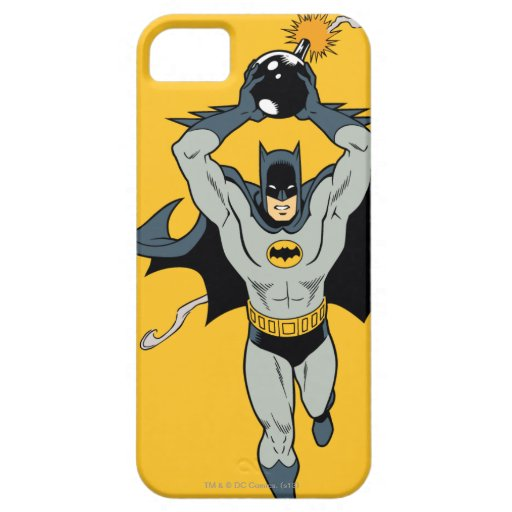 Batman Running With Bomb iPhone SE/5/5s Case