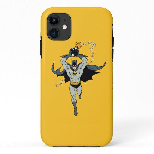 Batman Running With Bomb iPhone 11 Case