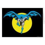 Batman Runs Forward Greeting Card