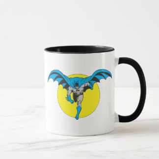 Batman Runs Forward Mug