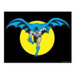 Batman Runs Forward Postcard