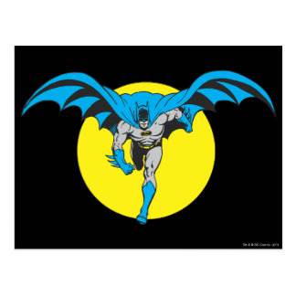 Batman Runs Forward Post Cards