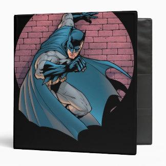 Batman Scenes - Brick Wall 3 Ring Binder