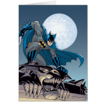 Batman Scenes - Gargoyle Card