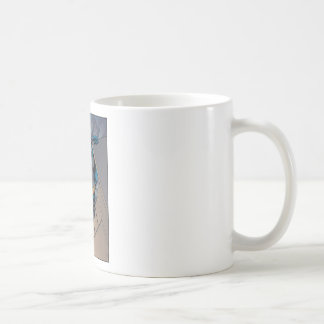 Batman Scenes - Hanging From Ledge Coffee Mug