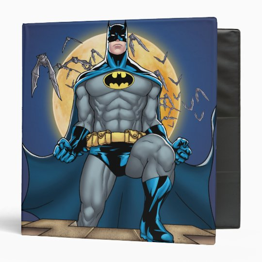 Batman Scenes - Moon Front View Binder