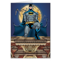 Batman Scenes - Moon Front View Card