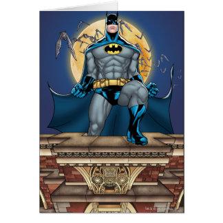 Batman Scenes - Moon Front View Card