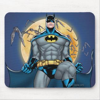 Batman Scenes - Moon Front View Mouse Pad