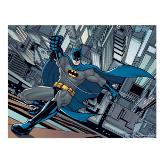 Batman Scenes - Scaling Wall Postcard