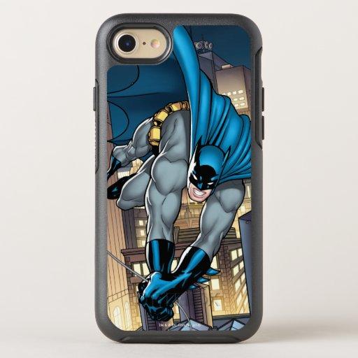 Batman Scenes - Swinging Low OtterBox Symmetry iPhone SE/8/7 Case