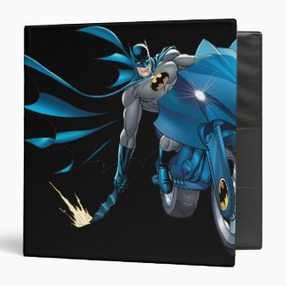 Batman Scrapes the ground 3 Ring Binder