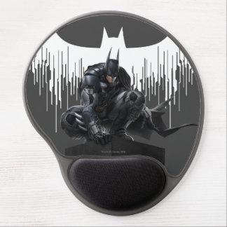 Batman se encaramó en un pilar alfombrilla con gel