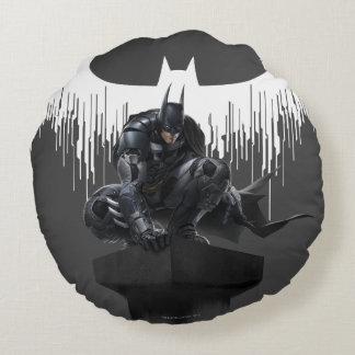 Batman se encaramó en un pilar cojín redondo