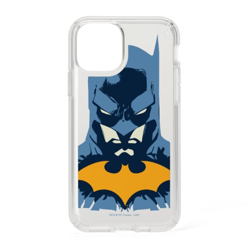 Batman Shattered Bust With Gold Logo Speck iPhone 11 Pro Case