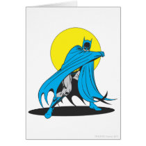 Batman Shields Himself Card