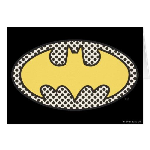 Batman Showtime Symbol Greeting Card