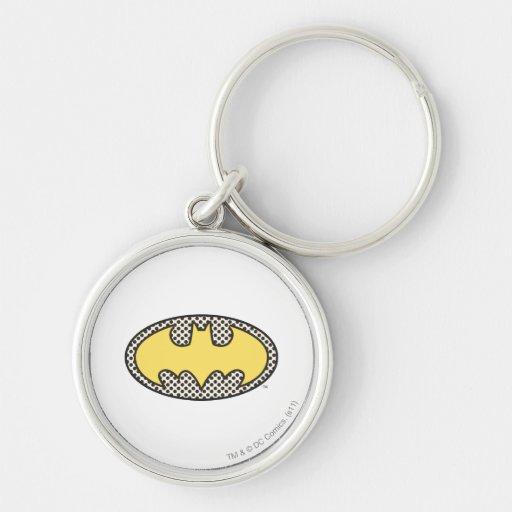 Batman Showtime Symbol Key Chain