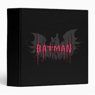 Batman Silhouette Vinyl Binders