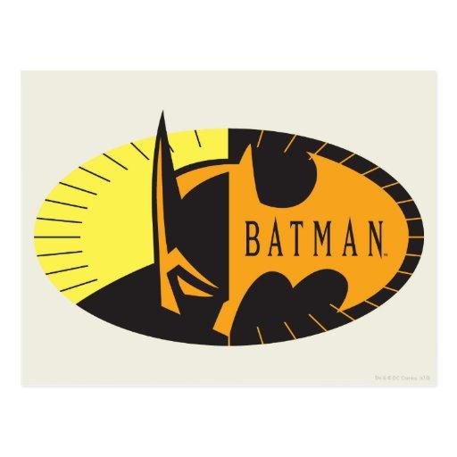 Batman Silhouette Post Cards
