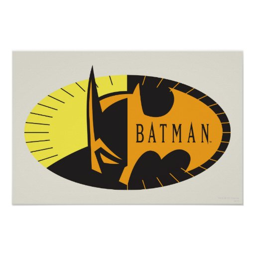 Batman Silhouette Poster