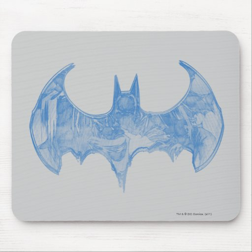 Batman Sketchbook 2 Mouse Pad