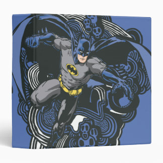 Batman Skulls/Ink Doodle 2 Binder