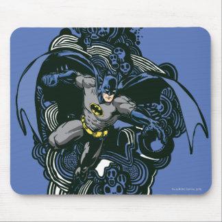 Batman Skulls/Ink Doodle 2 Mouse Pad