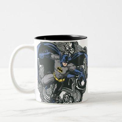 Batman Skulls/Ink Doodle 2 coffee mug $ 17.95
