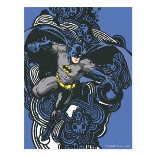 Batman Skulls/Ink Doodle 2 Post Card