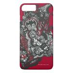 Batman Skulls/Ink Doodle iPhone 7 Plus Case