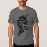 Batman Skulls/Ink Doodle T Shirt