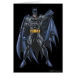 Batman soporta el cabo tarjeta de felicitación